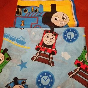 NWOT- Thomas the Train Twin Bedsheets